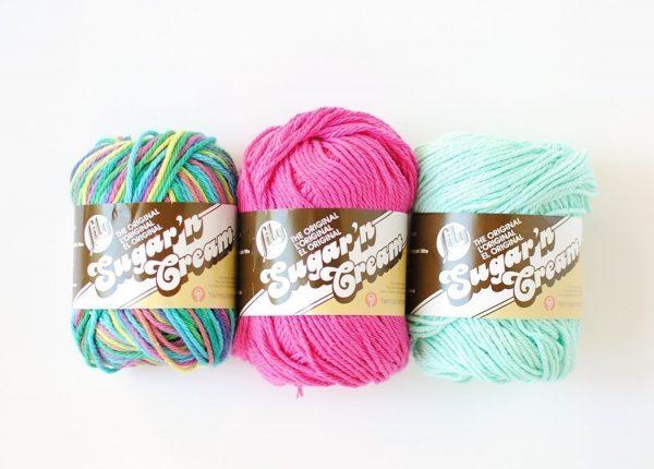 Lily Sugar N Cream Yarn