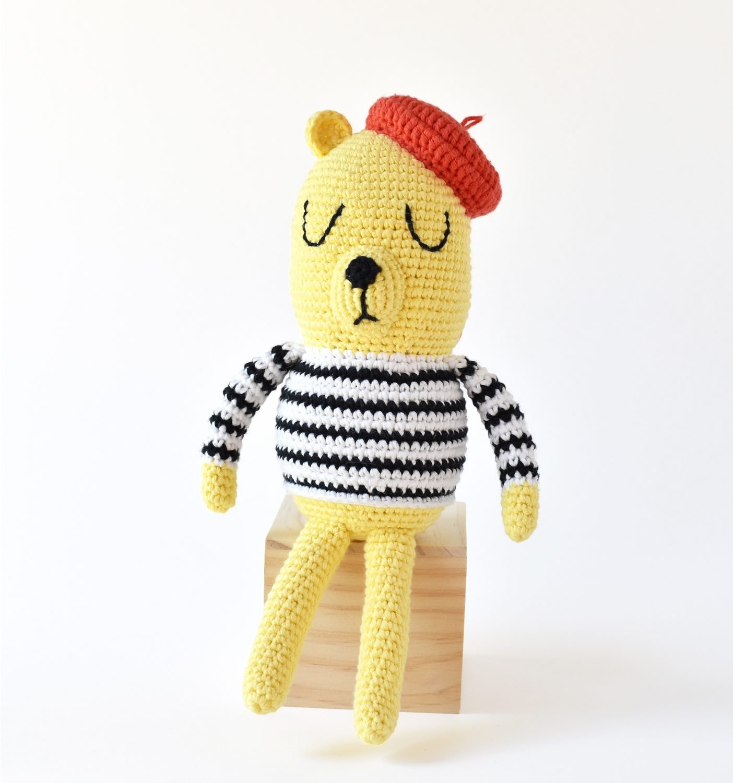Monsieur Bear Crochet Pattern