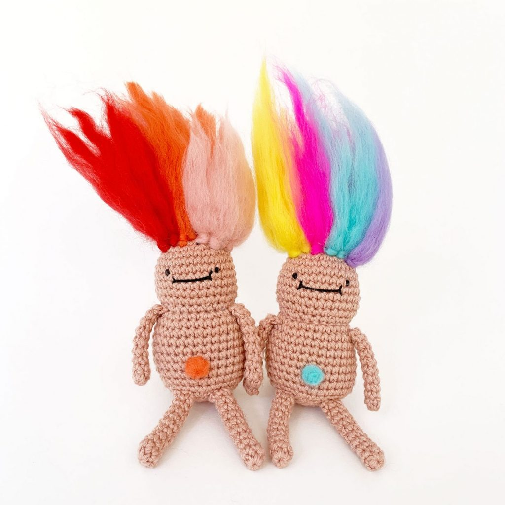 Troll Doll Crochet Pattern