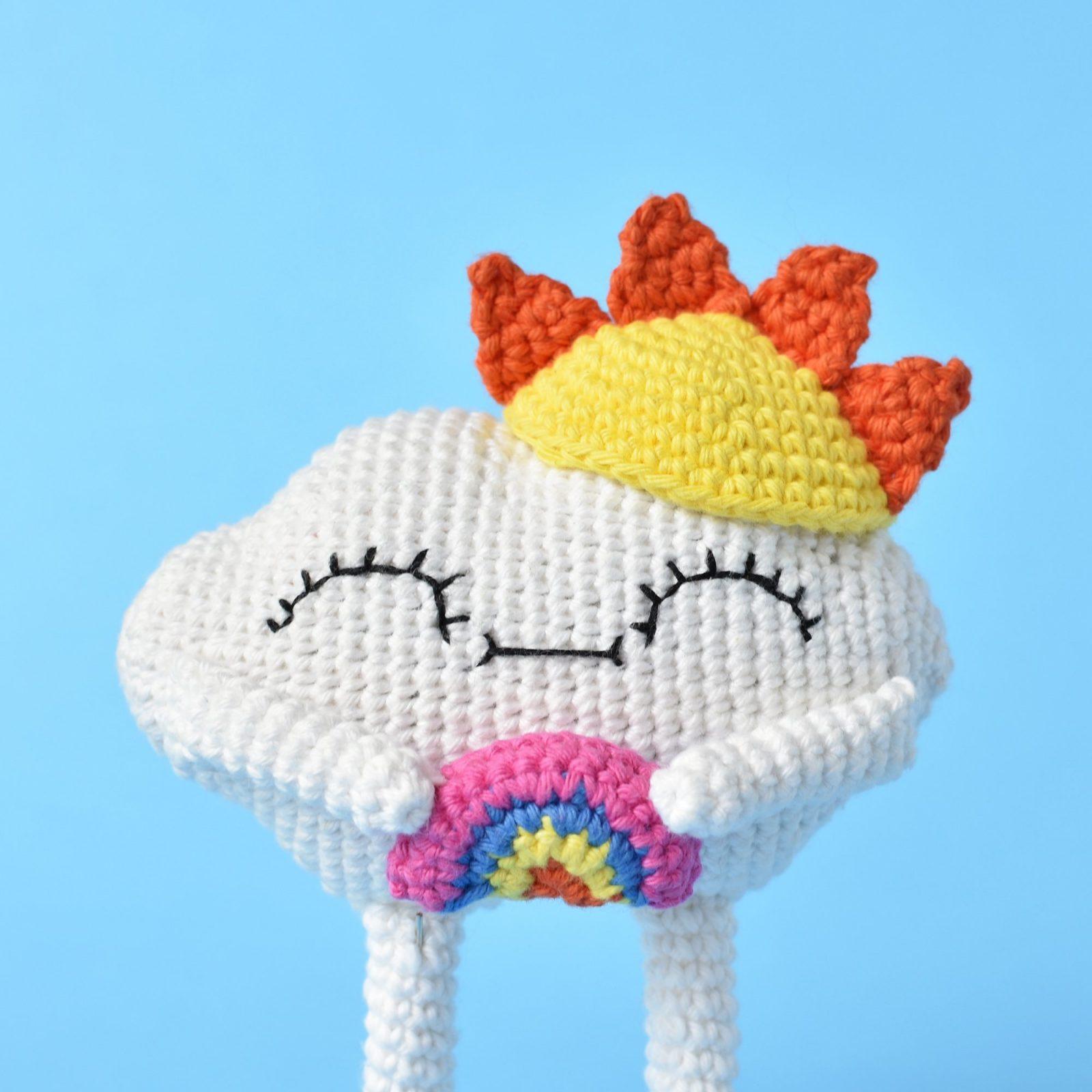 Free Sunshine Crochet Pattern Kawaii Cuddler™ | 3amgracedesigns | 2000x2000