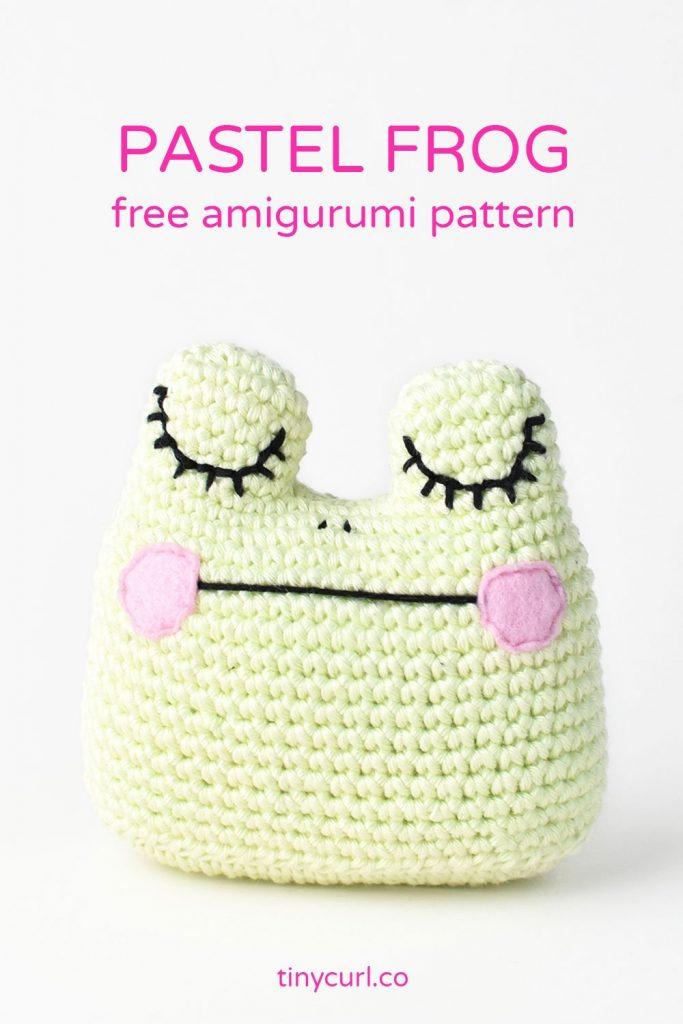 Amigurumi Frog Free Pattern Pin