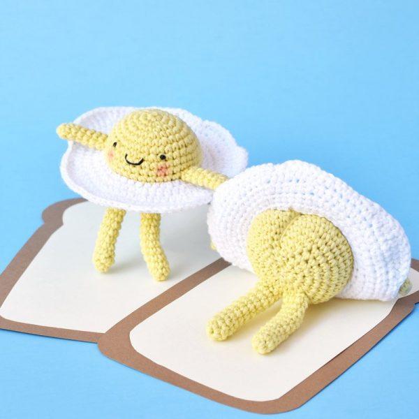amigurumi egg crochet pattern