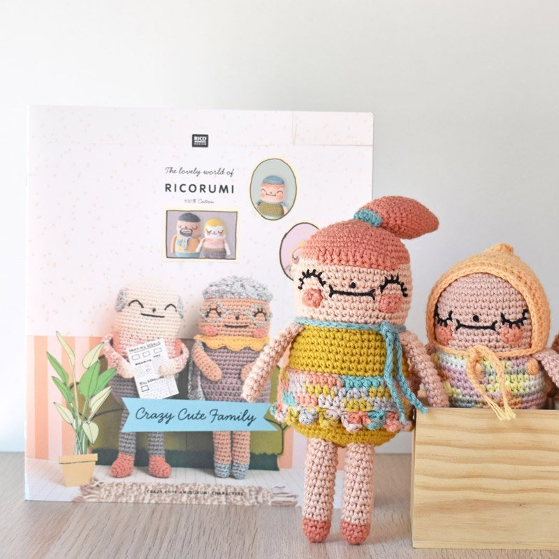 crochet family amigurumi pattern book