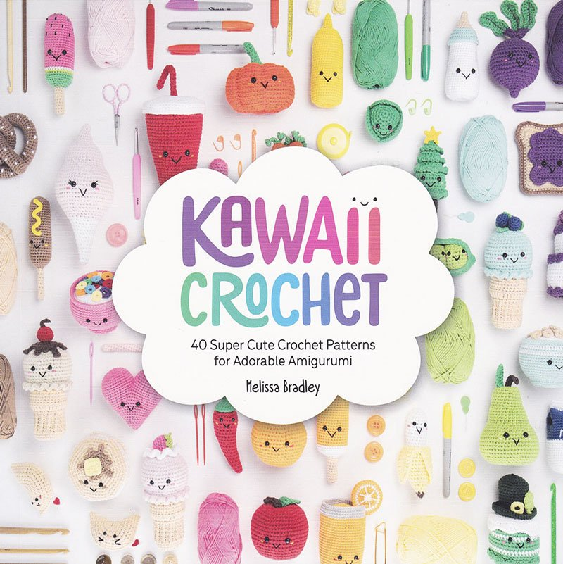 kawaii crochet book by melissa bradley cover