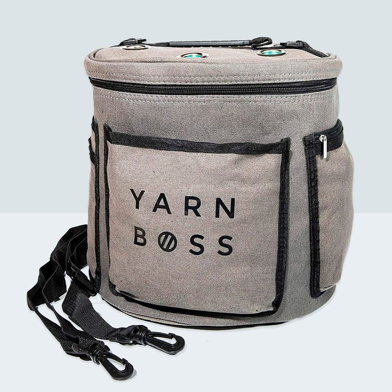 yarn boss crochet project bag